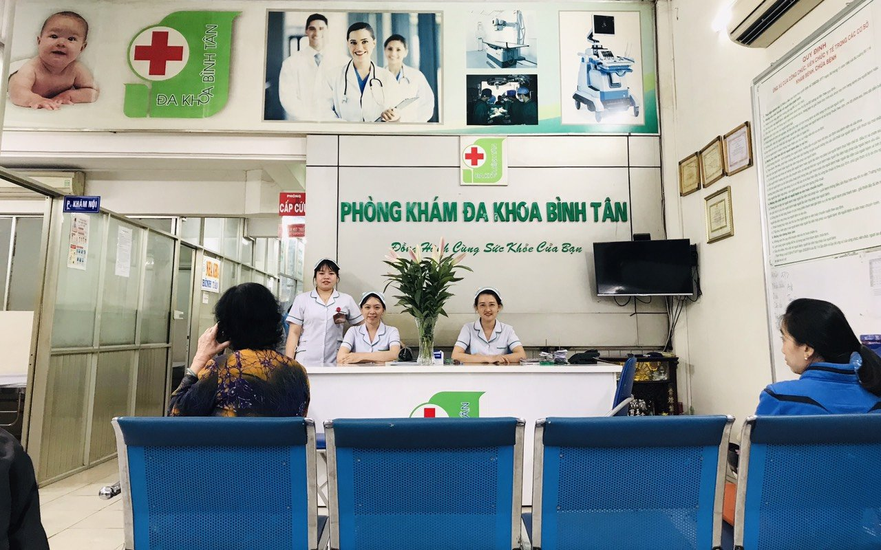 Phòng khám đa khoa Bình Tân