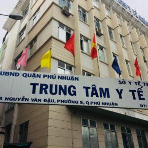 Phòng khám đa  khoa trực thuộc  Trung tâm Y tế Quận Phú Nhuận
