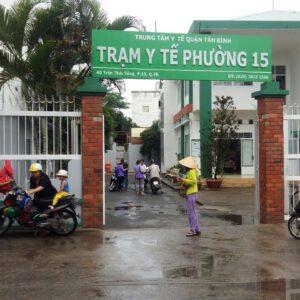 Trạm y tế phường 15