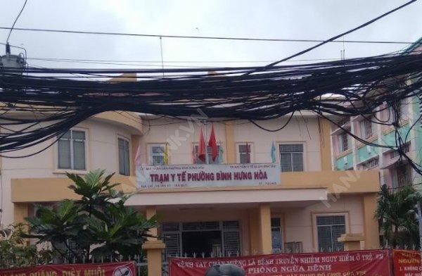 Trạm Y tế Phường Bình Hưng Hòa (thuộc Trung tâm Y tế quận Bình Tân)