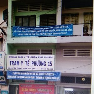 Trạm Y tế phường 15 quận Phú Nhuận