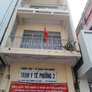 Trạm Y tế phường 2 quận Phú Nhuận