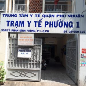 Trạm Y tế phường 1 quận Phú Nhuận