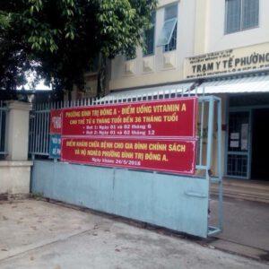 Trạm Y tế Phường Bình Trị Đông A  (thuộc Trung tâm Y tế quận Bình Tân)