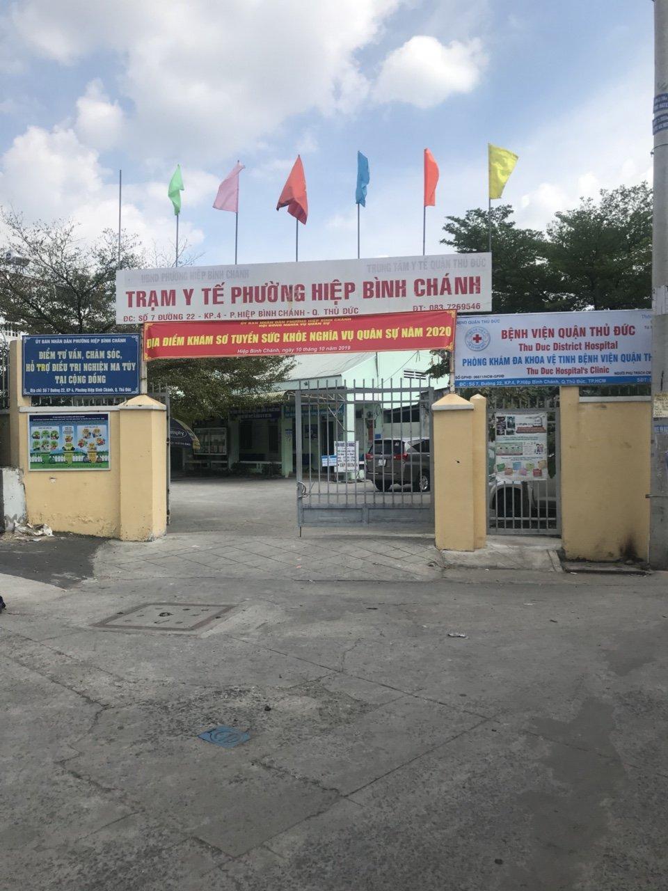 Phòng khám Đa khoa vệ tinh Hiệp Bình Chánh