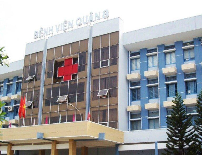 Quy mô hoạt động của bệnh viện quận 8 - Ảnh 1