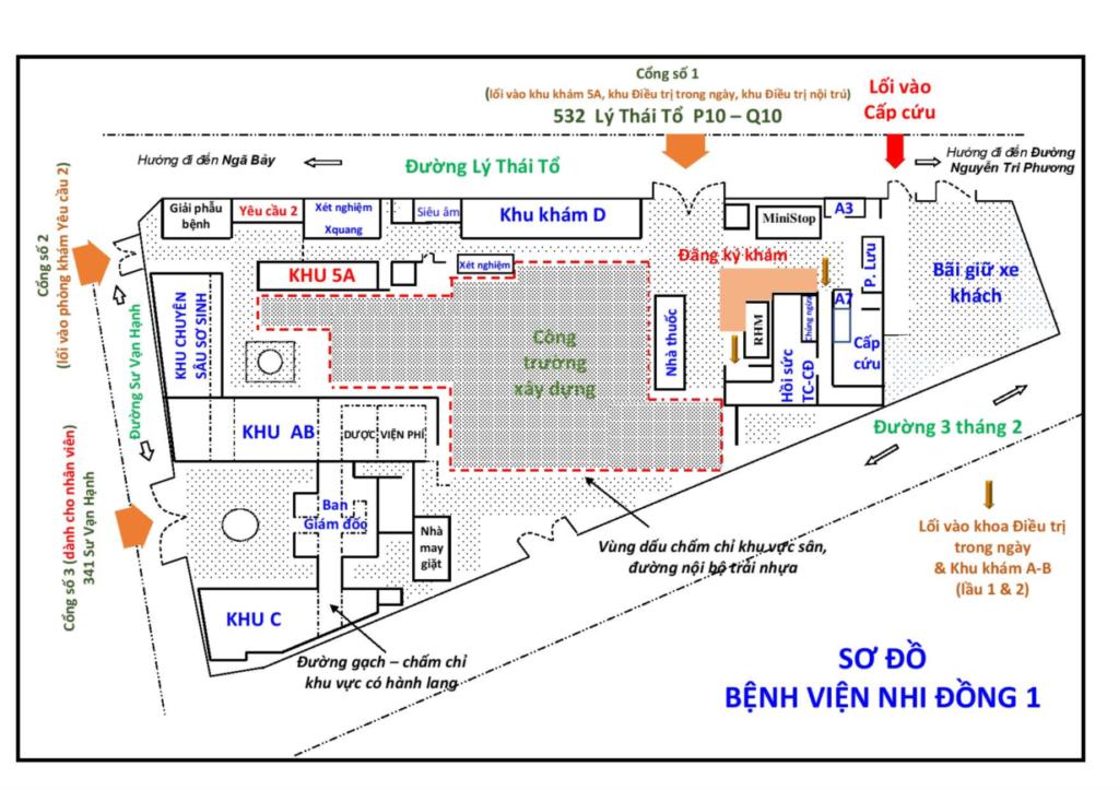 Bênh viện Nhi Đồng 1