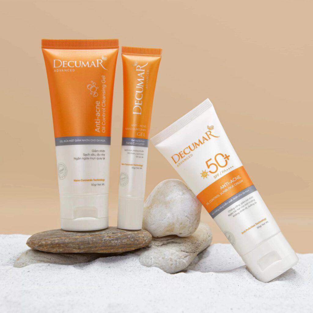 Decumar Clean được bào chế dạng gel thân nước màu vàng cam - Ảnh 3