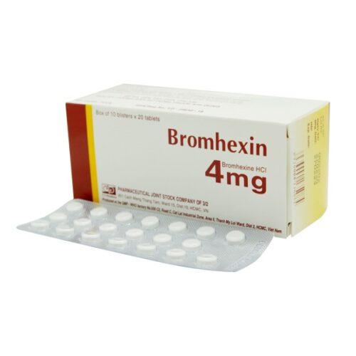 Thuốc tiêu đờm trị ho Bromhexin - Ảnh 8