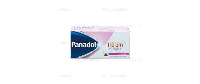 Thuốc giảm đau hạ sốt Panadol For Children 120mg