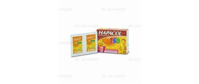 Thuốc giảm đau hạ sốt Hapacol