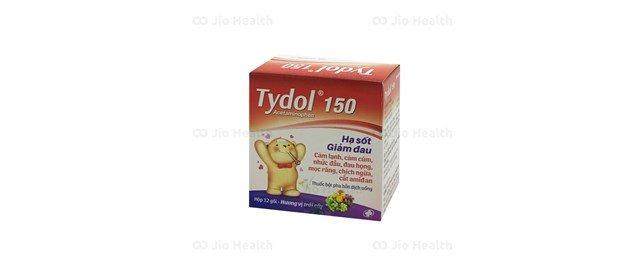 Thuốc giảm đau, hạ sốt Tydol