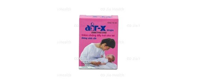 Thuốc hỗ trợ tiêu hóa chữa trướng bụng, đầy hơi cho trẻ nhỏ Air-X drops