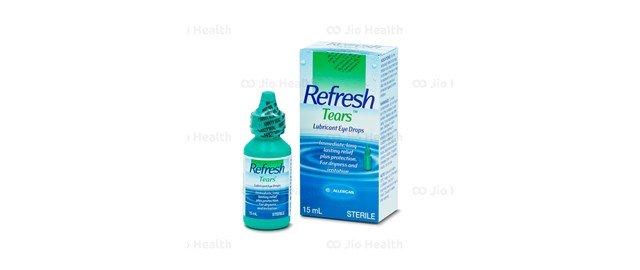 Thuốc nhỏ mắt Refresh tears cho tủ thuốc gia đình