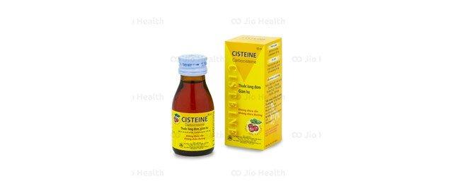 Thuốc tiêu đàm Siro Cisteine