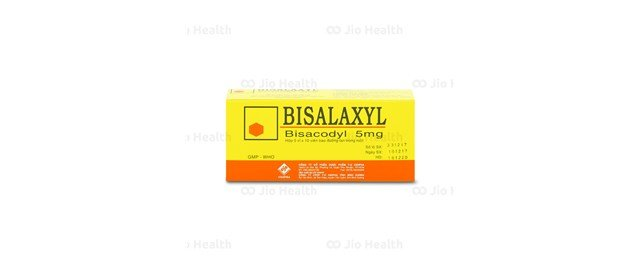 Thuốc trị táo bón Bisalaxyl 5mg