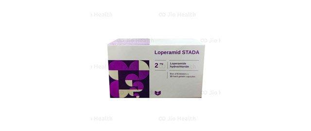 Thuốc trị tiêu chảy Loperamid Stada 2mg