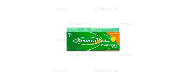 Viên sủi tăng sức đề kháng Berocca Perfomance cho tủ thuốc gia đình