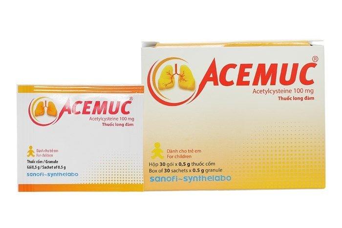 Thuốc tiêu đờm Acemuc - Ảnh 16