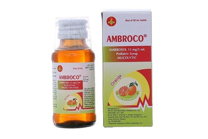 Thuốc siro tiêu đờm, trị các bệnh cấp và mãn tính đường hô hấp cho trẻ em Ambroco - Ảnh 15
