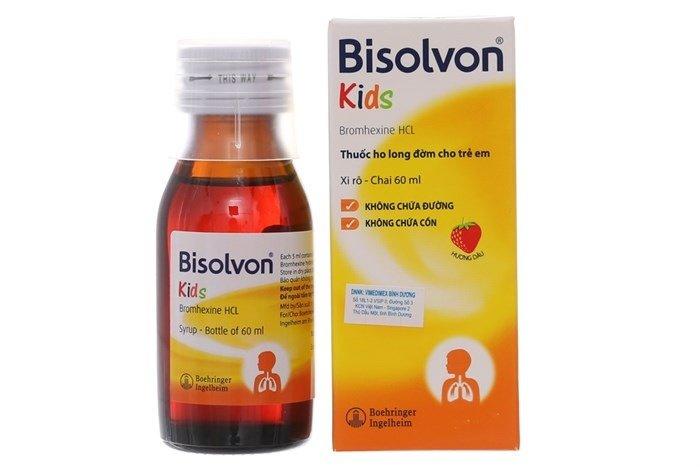 Siro Bisolvon - Thuốc ho dành cho trẻ em - Ảnh 13