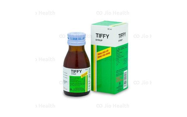 Thuốc Cảm ho Siro Tiffy