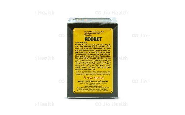 Viên uống hỗ trợ sinh lí Rocket 1h dạng gói