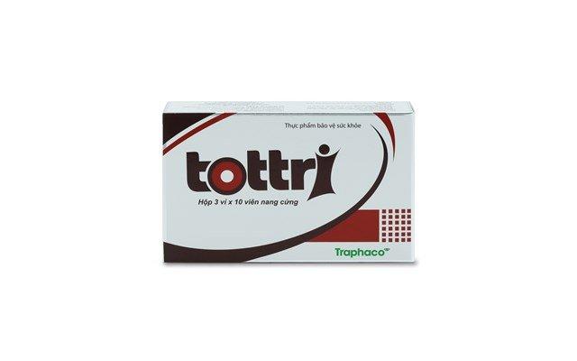 Viên uống điều trị và phòng ngừa trĩ Tottri
