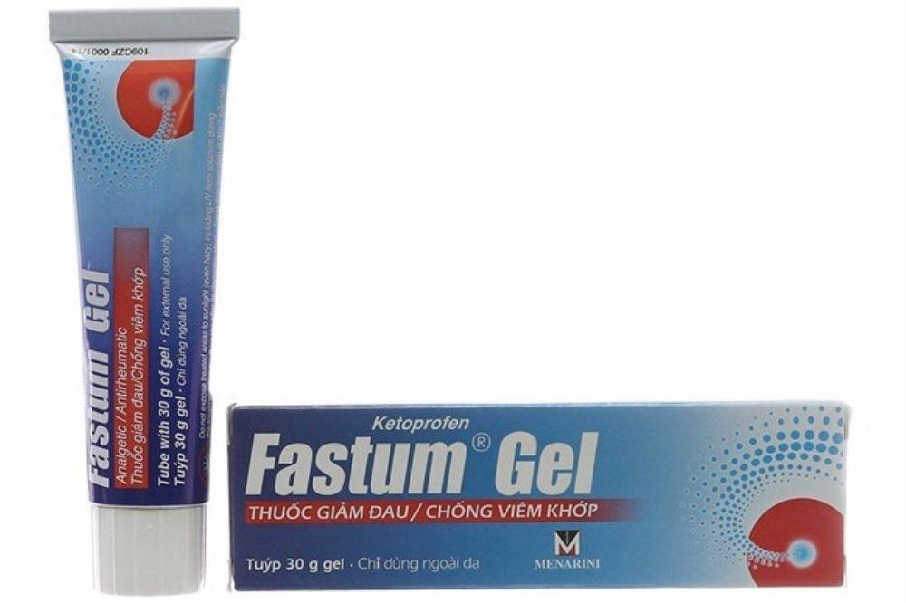 Cận cảnh Gel bôi giảm đau Fastum - Ảnh 4