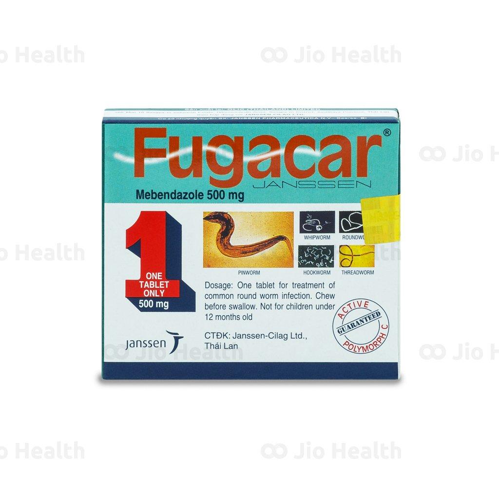 Điểm mặt thuốc tẩy giun Fugacar từ Janssen tin dùng nhiều nhất