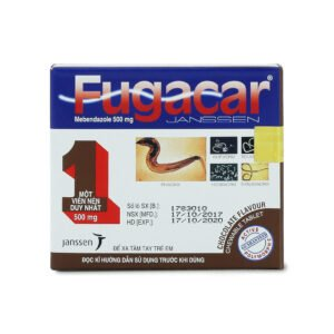 Thuốc xổ giun sán Fugacar vị chocolate