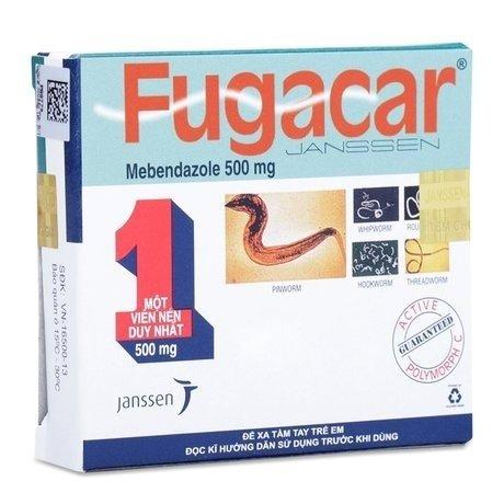 Thuốc Fugacar được cung cấp bởi công ty dược phẩm hàng đầu Việt Nam Janssen - Ảnh 1