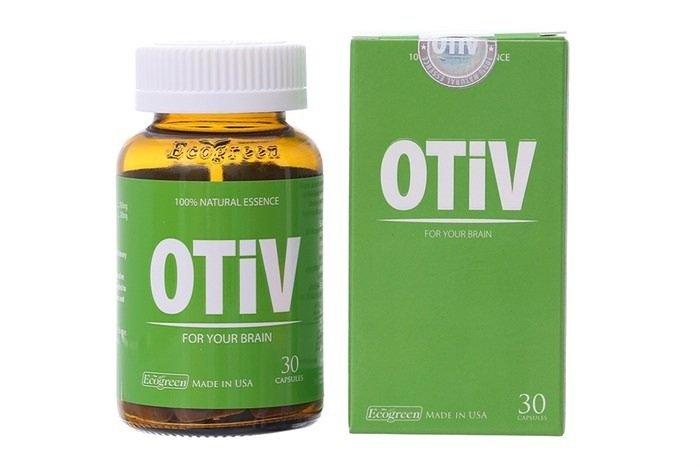 Thuốc hỗ trợ điều trị mất ngủ, đau nửa đầu & suy giảm trí nhớ Otiv (30 viên/hộp - Ảnh 6