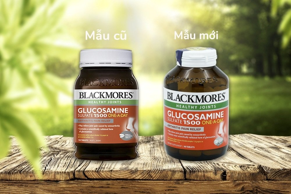 Cận cảnh viên uống bổ xương khớp Blackmores Glucosamine - Ảnh 2