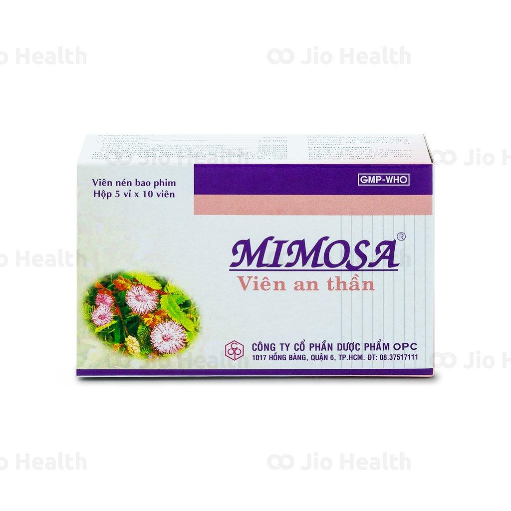 thuốc an thần mimosa