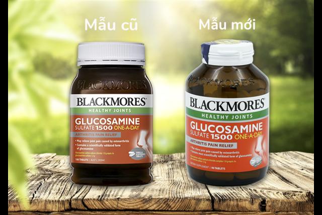 Viên uống bổ xương khớp Blackmores Glucosamine 1500mg- One a day