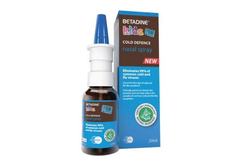 Betadine Kid Cold Defense - Thuốc xịt mũi dành cho trẻ em - Ảnh 4