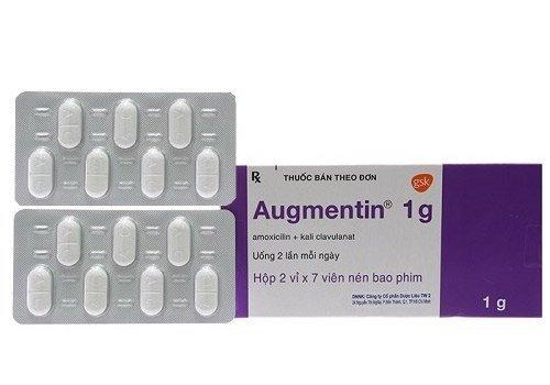 Thuốc Augmentin 1g là thuốc gì? - Ảnh 1