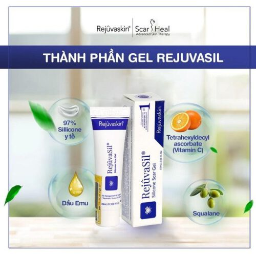 Kem trị sẹo lồi Rejuvasil gel được yêu thích hiện nay - Ảnh 17