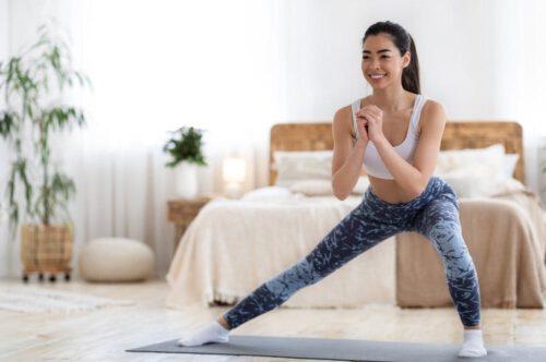 Tập aerobic - Cách giảm cân tại nhà cho mẹ sau sinh - Ảnh 10