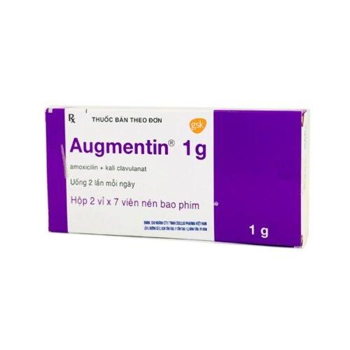 Một số lưu ý khi dùng thuốc kháng sinh Augmentin 1g - Ảnh 4