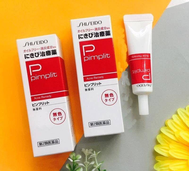Kem dưỡng ẩm trị mụn ẩn Shiseido Pimplit Nhật Bản - Ảnh 10