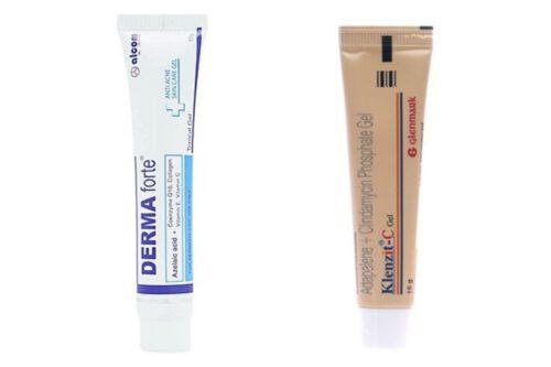 So sánh kem trị mụn Klenzit C và Derma Forte - Ảnh 4