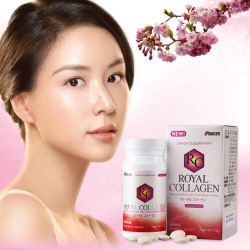 Collagen trị nám, tàn nhan Umeken Royal Collagen Của Nhật Bản - Ảnh 4