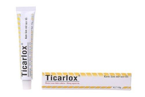 Kem trị sẹo lồi và thâm Ticarlox - Ảnh 15